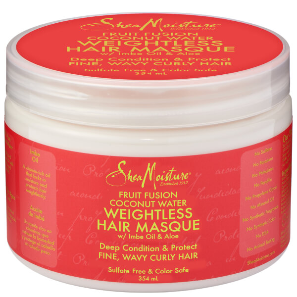Shea Moisture Fruit Fusion Weightless Masque 340g