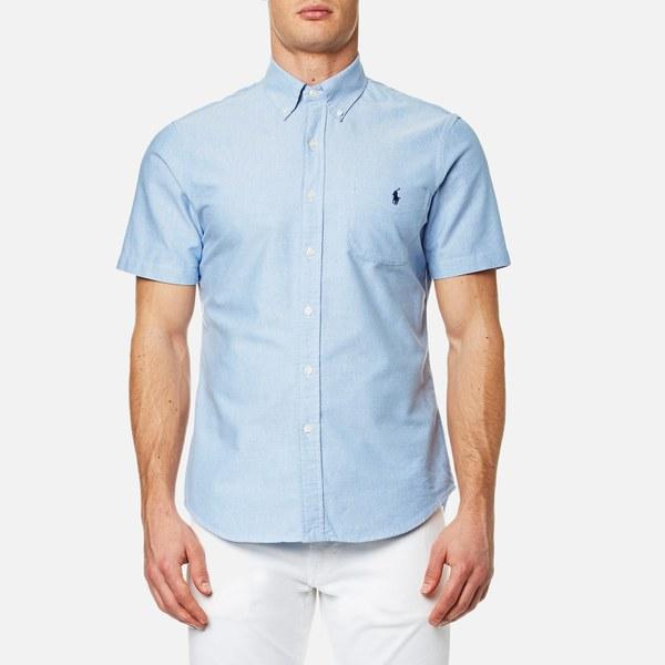 Polo Ralph Lauren Men's Short Sleeve Shirt - Blue