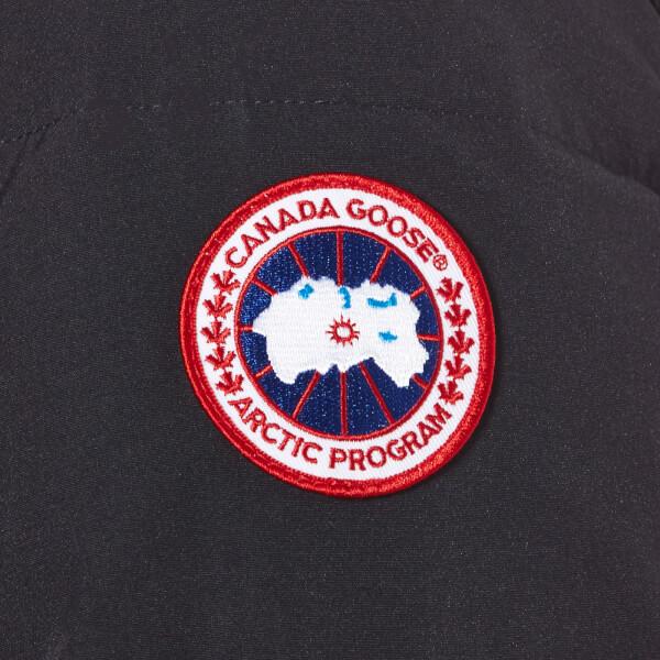 canada goose logo left arm
