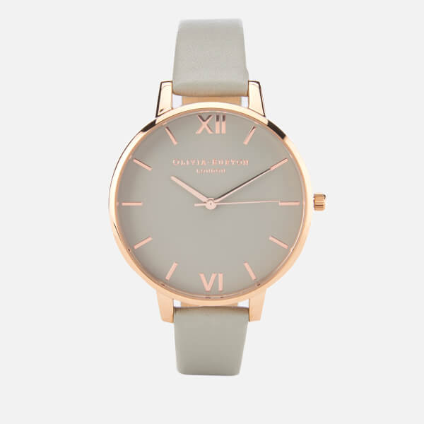 band watch blush leather watches the original gold products polished rose horse
