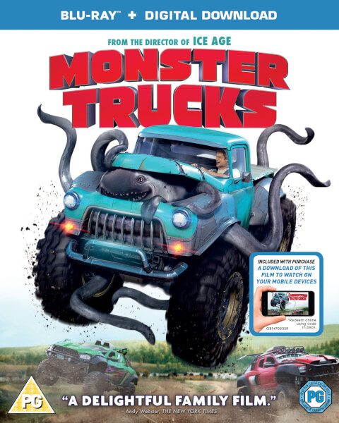 Monster Trucks Includes Digital Download Blu Ray Zavvi Com