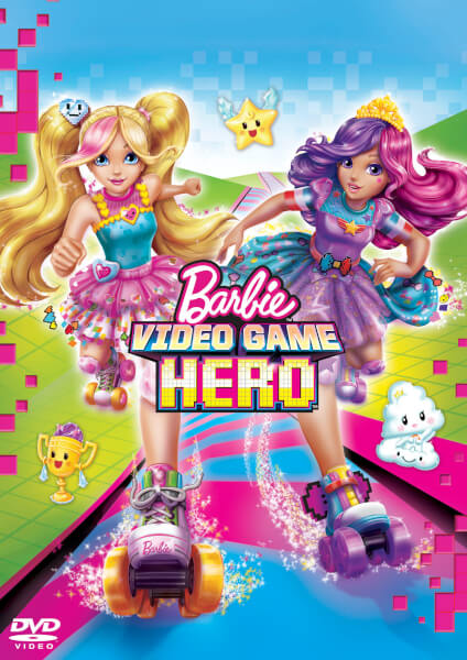 Barbie Video Game Hero (Includes Free 3D Stickers)
