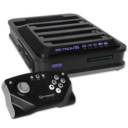 Retron 5 (9 in 1 Retro Gaming Console)
