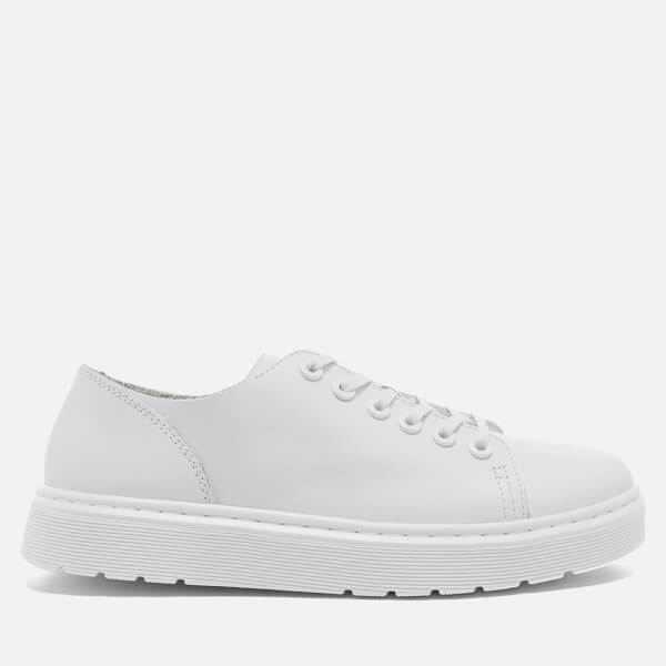 Dr. Martens Vibe Dante 6-Eye Shoes - White Venice