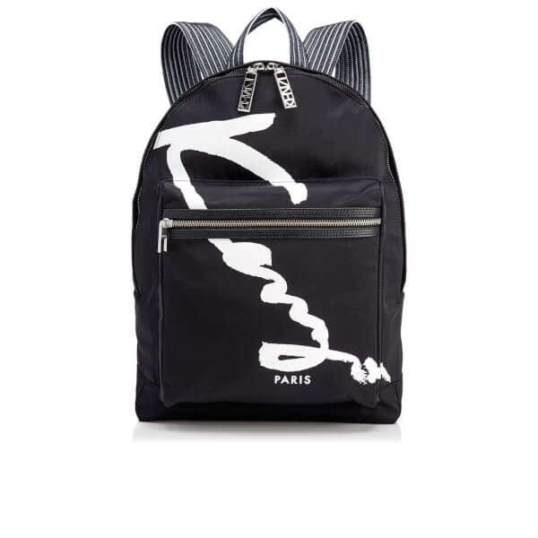 KENZO Women's Essentials Medium Rucksack - Black