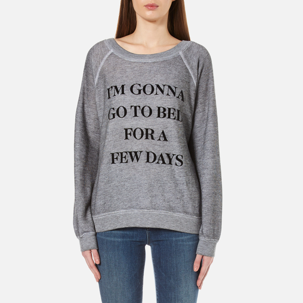 Wildfox Women's Daytime Napper Sommers Sweatshirt - Burnout Heather