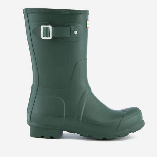 Hunter Men's Original Short Wellies - Hunter Green