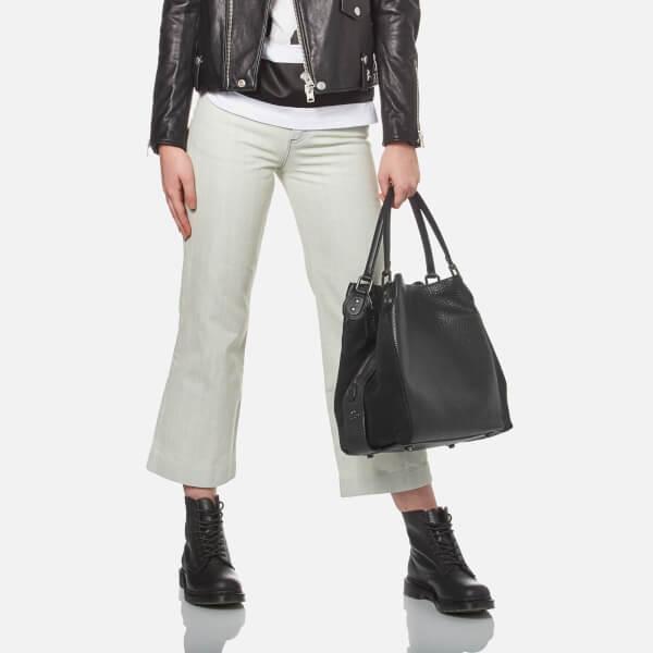 61813641d8f2 Coach Women s Edie 42 Shoulder Bag - Black  Image 2