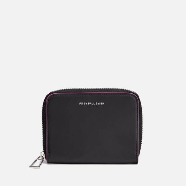 PS by Paul Smith Women s PS Small Zip Around Leather Purse - Black  Image 1 f6eb515bc593