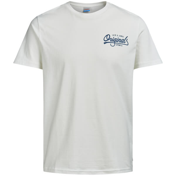 Jack & Jones Originals Men's Howdy T-Shirt - Cloud Dancer