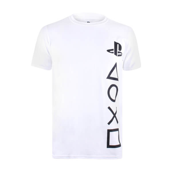 PlayStation Men's Symbols T-Shirt - White