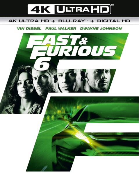 Fast & Furious 6 - 4K Ultra HD