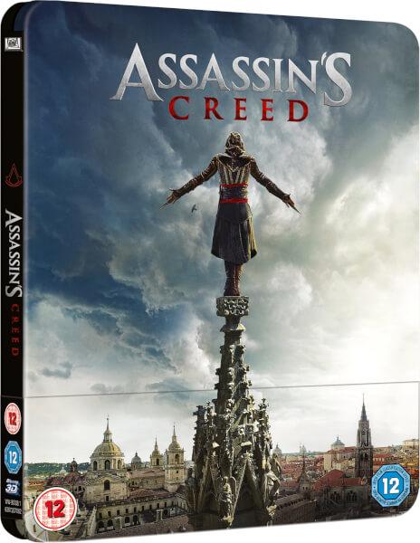 Assassin's Creed 3D (+ Version 2D) - Steelbook Exclusif Limité pour Zavvi