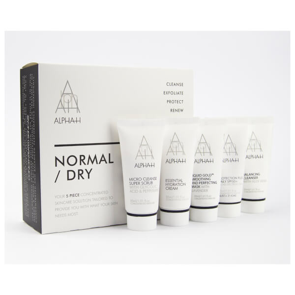 Alpha h normaldry 5 piece skincare kit recreate yourself nz alpha h normaldry 5 piece skincare kit solutioingenieria Images