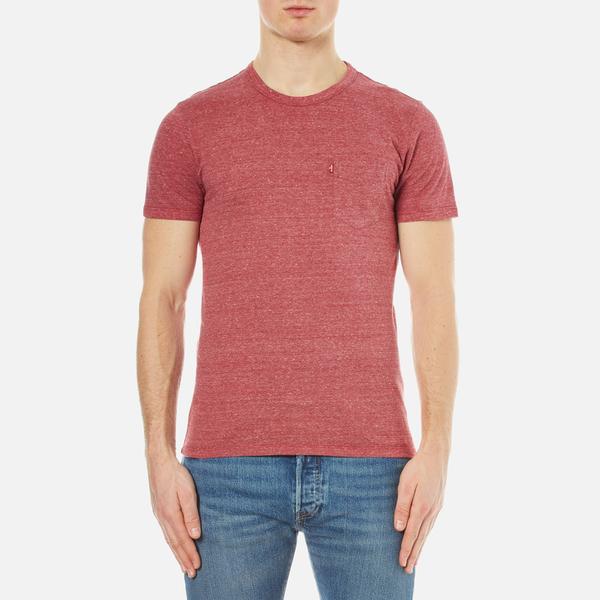 38f8d39c5ce Levi s Men s Sunset Pocket T-Shirt - Sun Dried Tomato Tri Blend  Image 1
