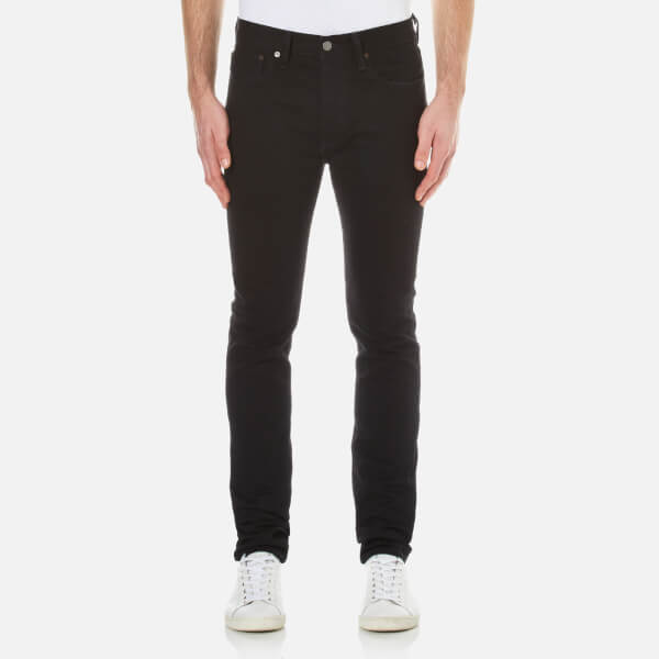 Levi s Men s 501 Skinny Jeans - Black Punk Mens Clothing  72e2dd52b