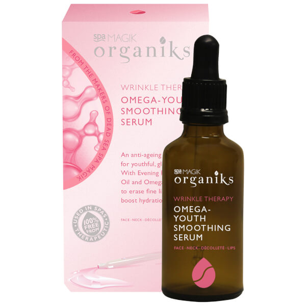 Spa Magik Organiks Wrinkle Therapy Omega-Youth Smoothing Serum