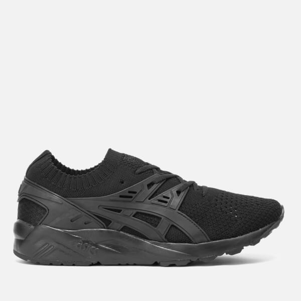 Asics Lifestyle Men's Gel-Kayano Knit Trainers - Black/Black