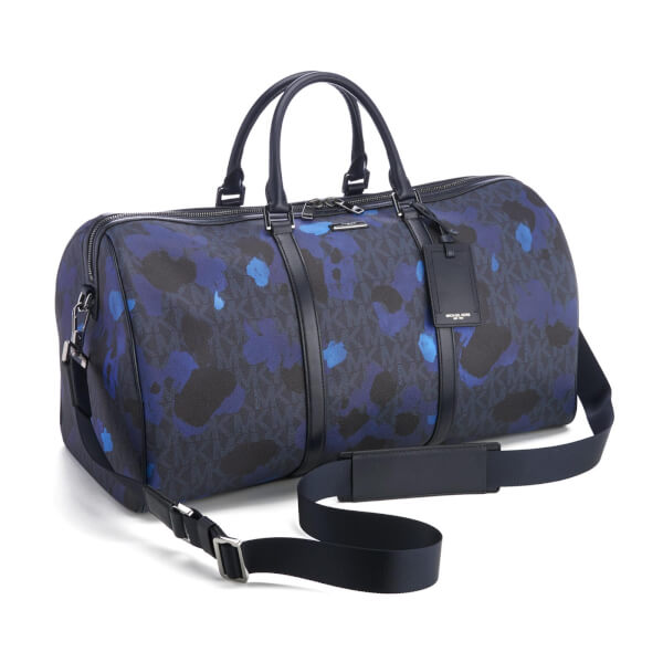 aa1c95a7bc2 Michael Kors Men s Jet Set Travel Large Duffle Bag - Midnight  Image 2