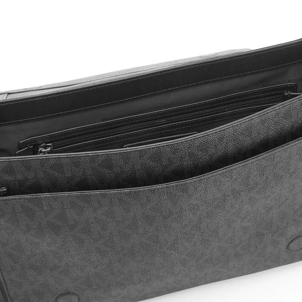 3213cf7e2e37 Michael Kors Men's Jet Set Large Messenger Bag - Black: Image 4