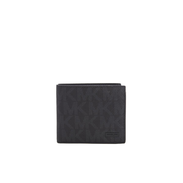 3c7ad3a2cc4f Michael Kors Men s Jet Set Billfold Wallet with Coin Pocket - Black  Image 1