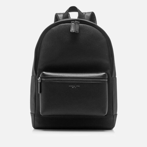 6943a0c04e3fa0 Michael Kors Men's Bryant Leather Backpack - Black: Image 1