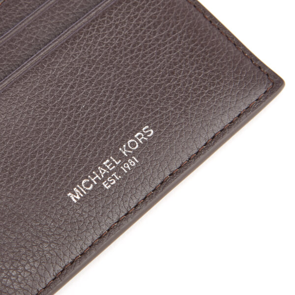 outlet store 9502f e225a Michael Kors Men's Bryant Card Case - Brown