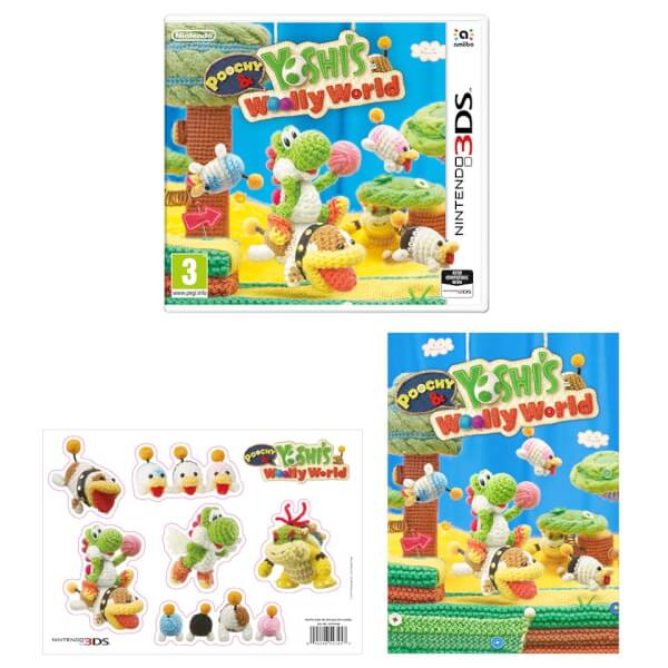 Poochy & Yoshi's Woolly World + Fan Pack