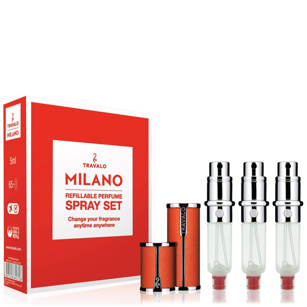 Travalo Milano HD Elegance Set - Orange (5ml)