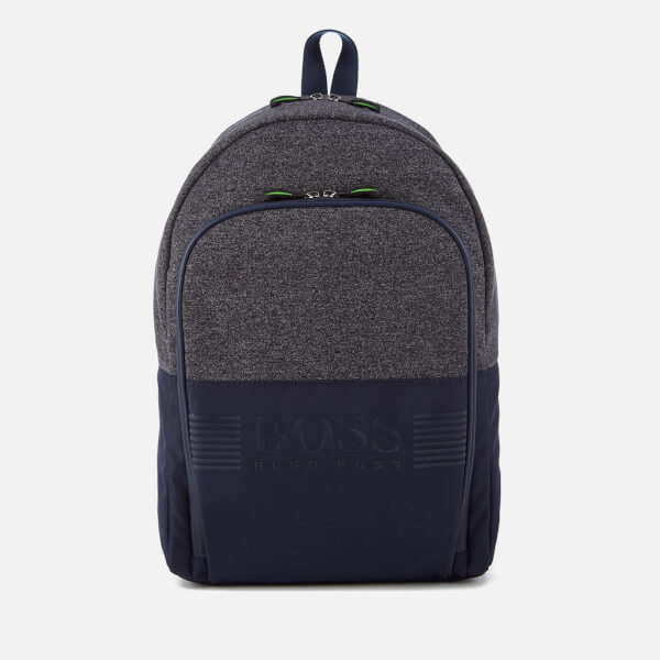 BOSS Green Men's Pixel Medium Backpack - Navy