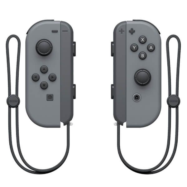 Nintendo Switch with Grey Joy-Con Controllers: Image 6