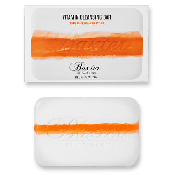 Baxter of California Vitamin Cleansing Bar Citrus and Herbal Musk 7oz