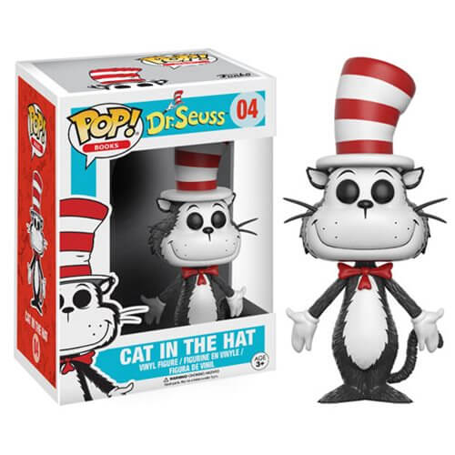 Dr. Seuss Cat In The Hat Pop! Vinyl Figure