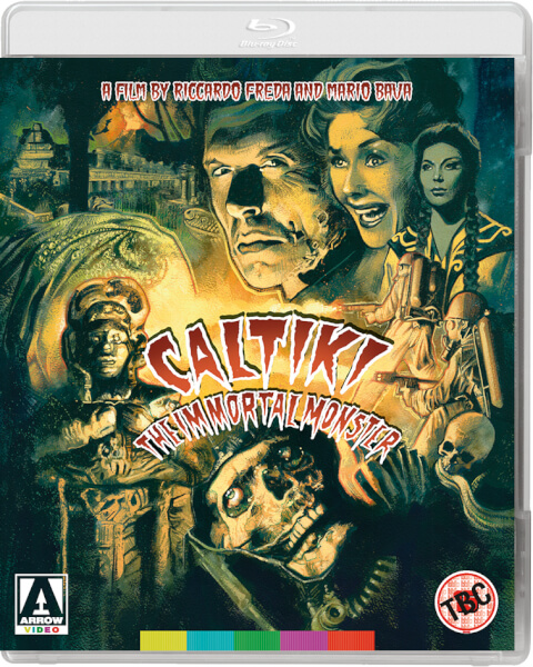 Caltiki: The Immortal Monster - Dual Format (Includes DVD)