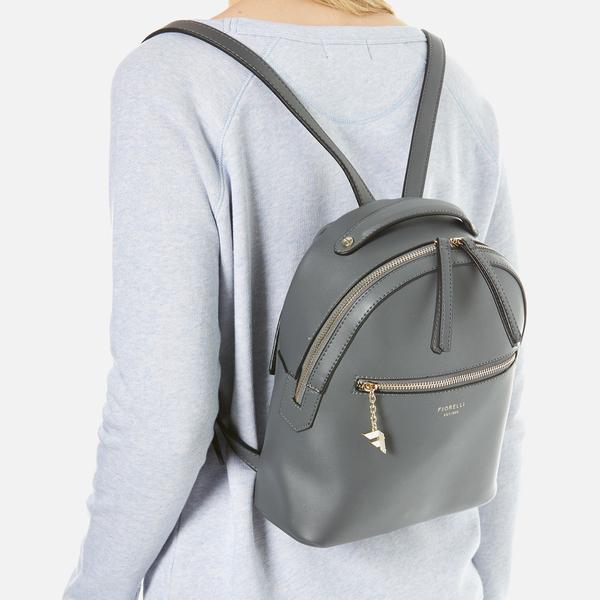 Fiorelli Women s Anouk Small Backpack - City Grey Damen Accessoires ...