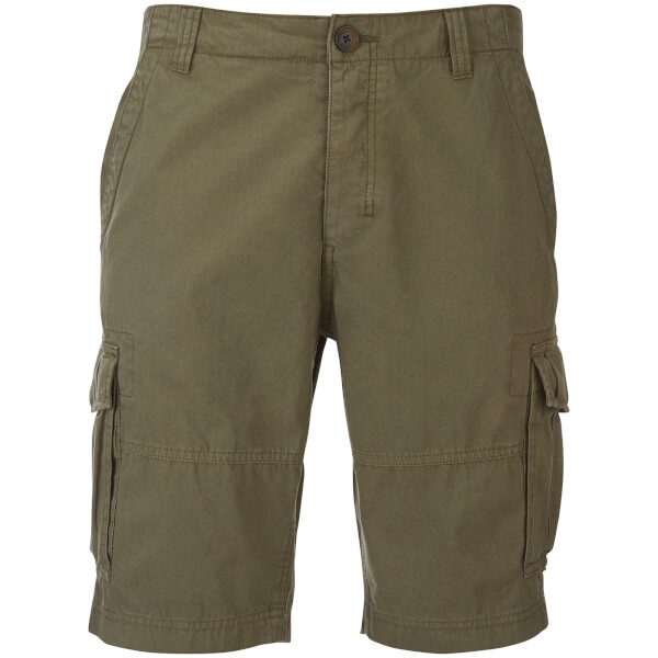 Threadbare Men's Hulk Cargo Shorts - Dark Khaki