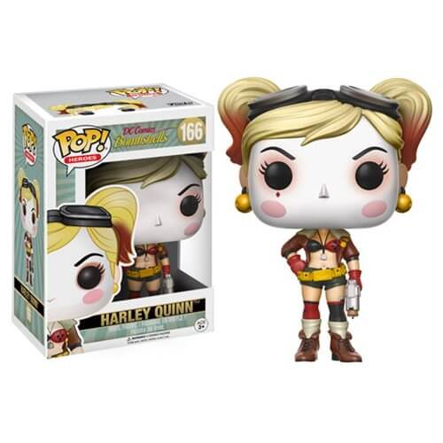 DC Bombshells Harley Quinn Pop! Vinyl Figure