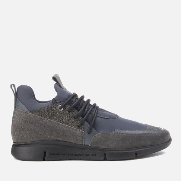Android Homme Men's Runyon Caviar/Neoprene Trainers - Grey
