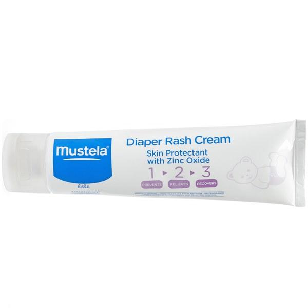 Mustela Diaper Rash Cream 123 with Zinc Oxide 3.8 oz.