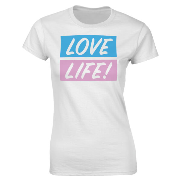 Love Life Women's T-Shirt - White
