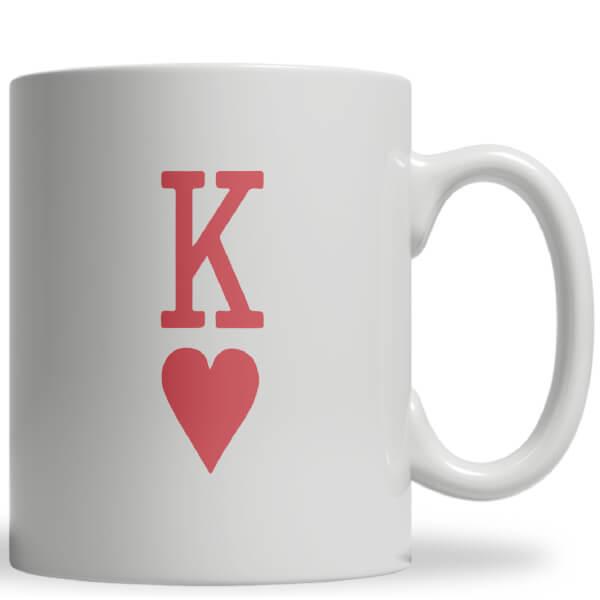 King of Hearts Ceramic Mug