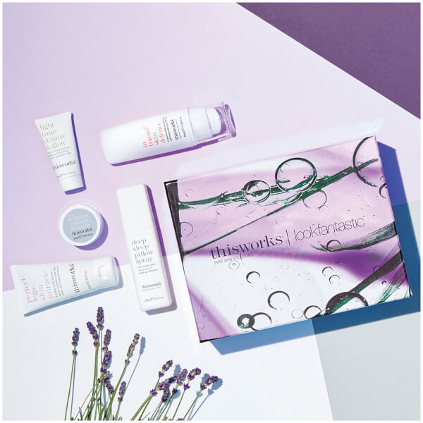 lookfantastic X this works Limited Edition Beauty Box (Worth £82)