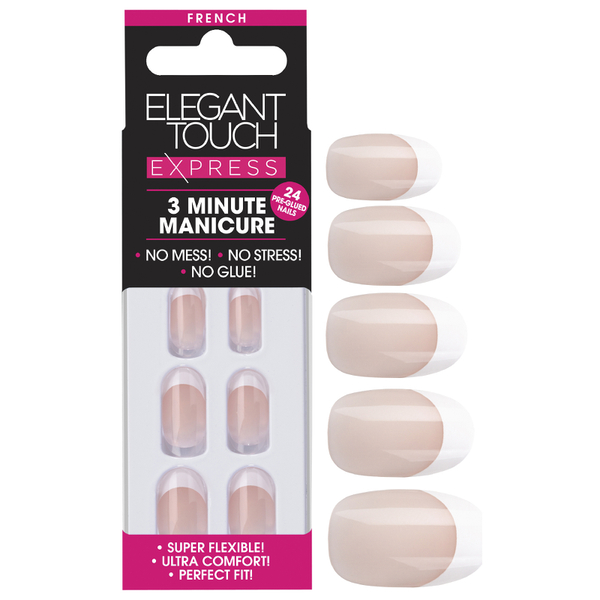 Elegant Touch Express Nails - French Oval Pink