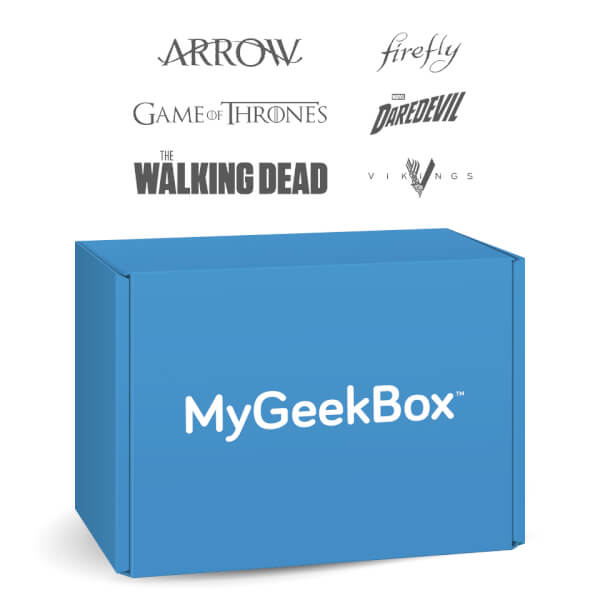 My Geek Box January Special Box - TV Shows