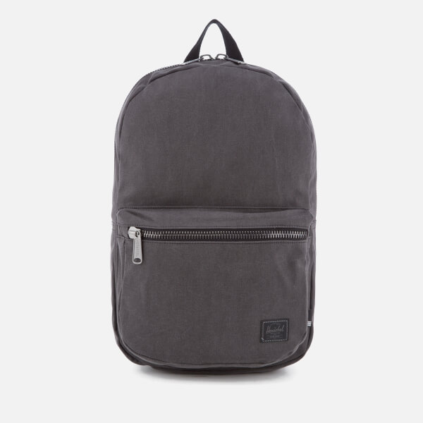 bb59835ac3 Herschel Supply Co. Lawson Cotton Canvas Backpack - Black  Image 1