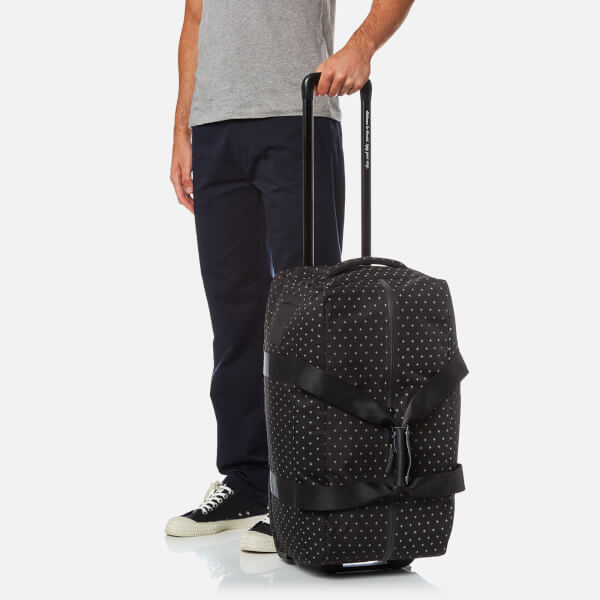 Herschel Supply Co. Wheelie Outfitter Travel Duffle Bag - Black Gridlock   Image 3 9cd937fbef7fe