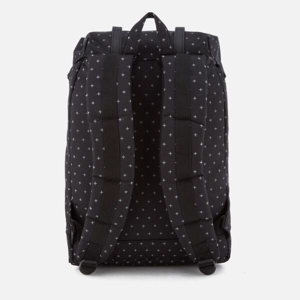 b361078a7de Herschel Supply Co. Retreat Classic Backpack - Black Gridlock Black Rubber   Image 2
