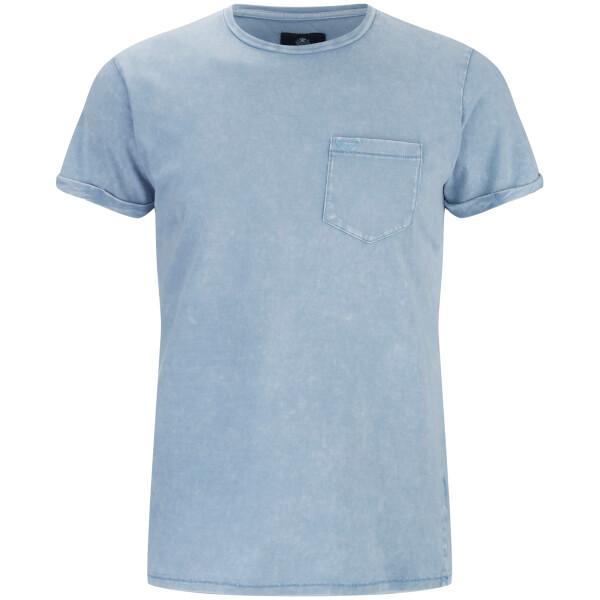 T-Shirt Homme Eureka Poche Threadbare -Bleu