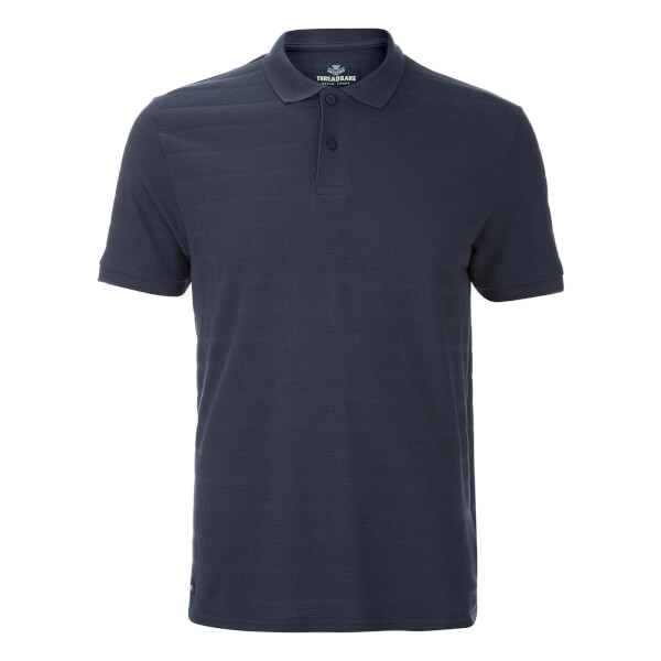 Polo Homme Stockton Threadbare - Marine