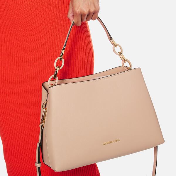 fd0279c5ec89 MICHAEL MICHAEL KORS Women's Portia Large Shoulder Bag - Oyster: Image 3